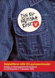 Vänsterpartiet - Oskarshamn