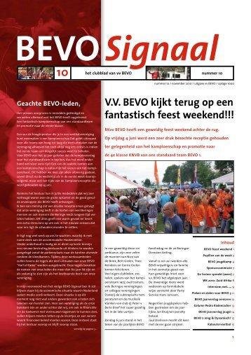 BEVO Signaal editie 2010 - vv BEVO