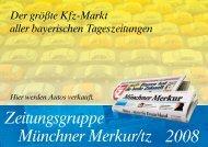 Zeitungsgruppe Münchner Merkur/tz 2008