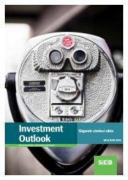 Investment Outlook maj 2013 (pdf) - SEB