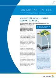Oxyfuel - Vattenfall