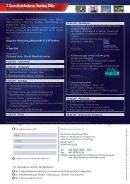 3. Gesundheitskonferenz Hamburg-Mitte - Unternehmer ohne Grenzen