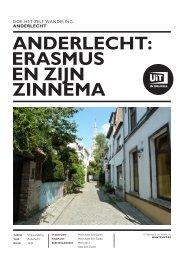 Doe Het Zelf Wandeling - Anderlecht, Erasmus en zijn - UiT in Brussel