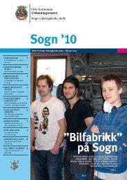 Sogn '10 - Sogn videregående skole