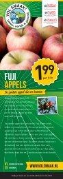 Fuji appels - Vol Smaak!
