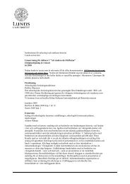 Institutionen för arkeologi och antikens historia Lunds ... - Bluerange