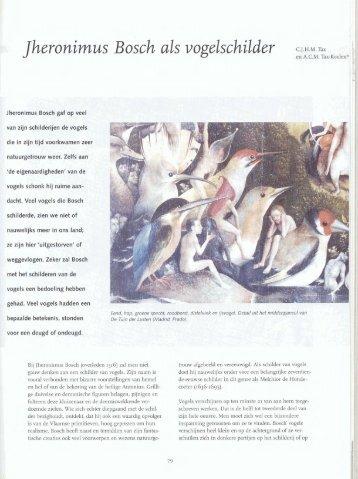 Jheronimus Bosch als vogelschilder - Bossche Bladen
