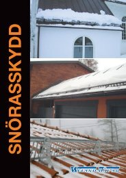 Snörasskydd - Weland Stål AB - Stegcentralen.se