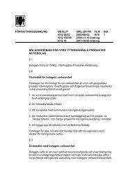Bolagsordning för YPRO Ytterhogdals Produkter AB - Härjedalen