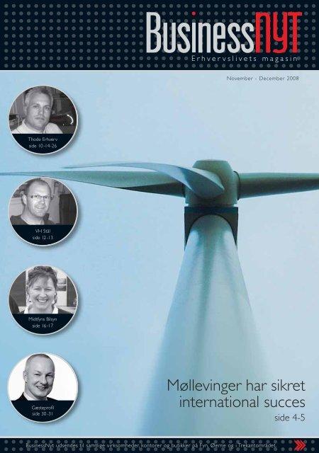 Møllevinger har sikret international succes - businessnyt.dk