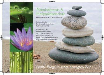 Naturheilpraxis Heilpraktikerschule