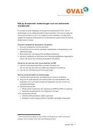 aanbevelingen voor een activerende arbeidsmarkt - Binnenlands ...