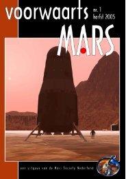 Voorwaarts Mars nr. 1 herfst 2005 - Mars Society