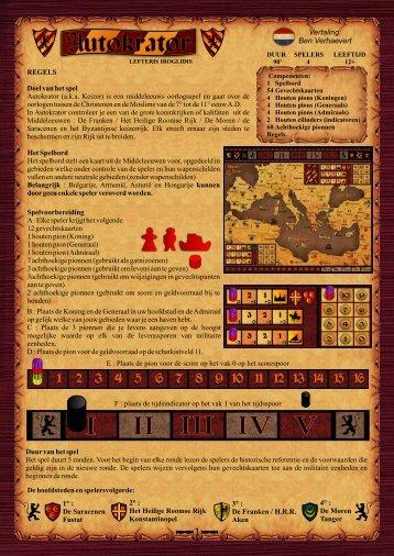 Vertaling: Ben Verhaevert - Diachron Games