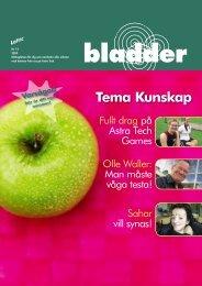 BLADDER 17 oktober - Astra Tech