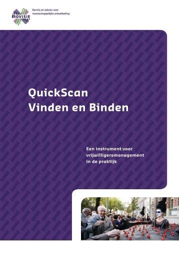 QuickScan Vinden en Binden