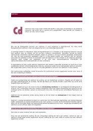 Cadmium - Medisch Milieukundigen