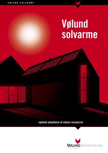 Vølund solvarme - Vølund Varmeteknik