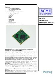 AriaG25 datasheet preliminary - T2 Engineering