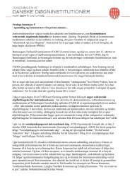 Fredags Summary 5 - Foreningen af Danske Døgninstitutioner for ...