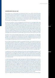 2011 jaarverslag USG People - deel 1 Voorwoord en Organisatie
