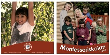 Montessoriskolan Montessoriskolan - Falu Kommun