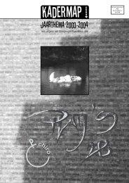 play's2B kadermap - Chiro