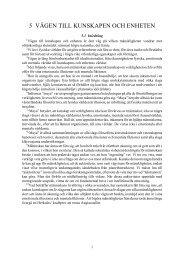 5 vägen till kunskapen och enheten - Henry T. Laurency Publishing ...