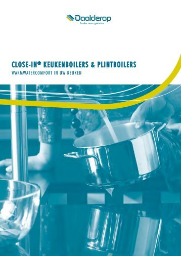 CLOSE-IN® KEUKENBOILERS & PLINTBOILERS - Buurs