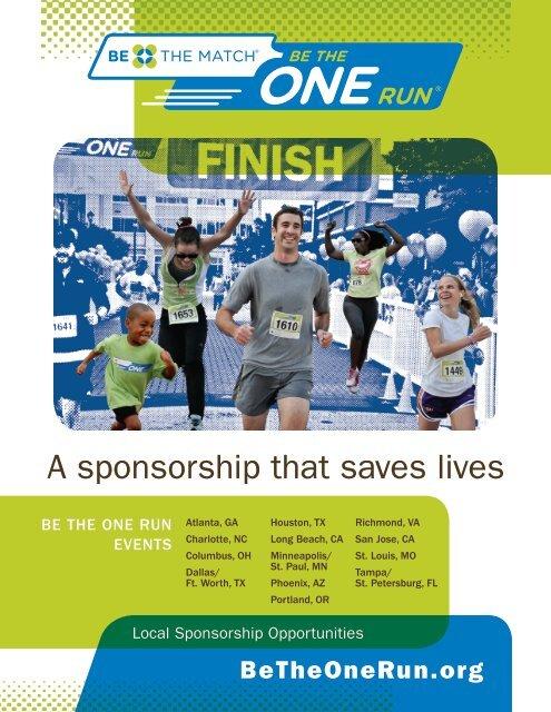 Local Sponsorship Opportunities (PDF).