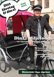 Ditt företag & din el, nr 2-2013 - Göteborg Energi DinEl
