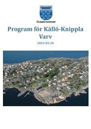 Program för Källö-Knippla Varv.pdf - Öckerö kommun