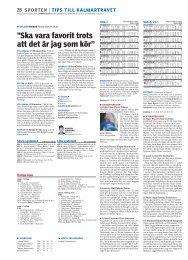 Kalmartravet (pdf) - Barometern