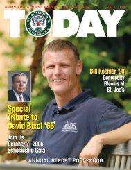 Special Tribute to David Bixel - St. Joseph High School - Saint ...
