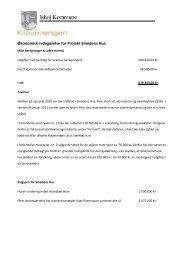 Økonomisk redegørelse for Projekt Smedens Hus.pdf - Ishøj Kommune
