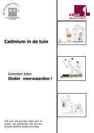 Cadmium in de grond - Medisch Milieukundigen