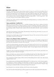 pdf:en om Islam - Fonus