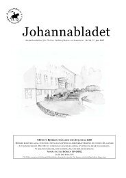 Johannabladet Nr.3 2006/07 - Örebro Waldorfskola