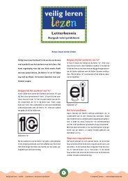 veilig leren veilig leren - Veilig leren lezen