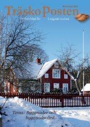 Nr 4, Tema Byggnader och byggnadsvård - Träskoposten