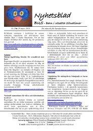 Nyhetsbladet BUS - Nr. 29, mars 2013 (pdf 132 kB) - Mälardalens ...