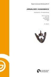 xlm rapport 2012-14 - Länsmuseet Gävleborg