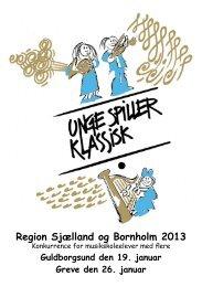 Program for begge dage - Unge Spiller Klassisk 2013