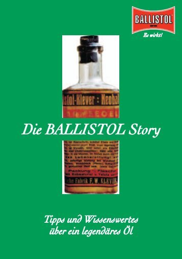 Historie - Ballistol