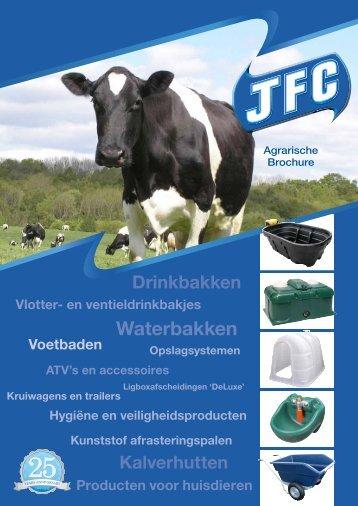 Waterbakken - JFC Manufacturing
