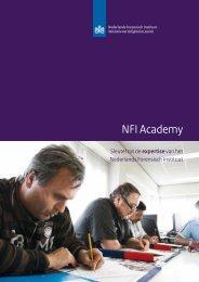 NFI Academy - Nederlands Forensisch Instituut