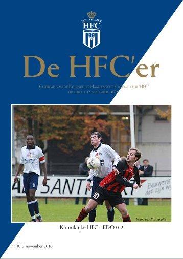 HFC'er 02-11-2010 - Koninklijke HFC