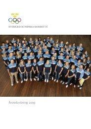 Årsredovisning 2009 - Sveriges Olympiska Kommitté