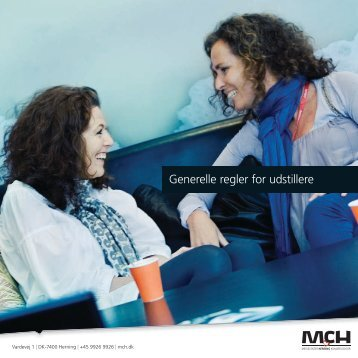Generelle regler for udstillere - MCH