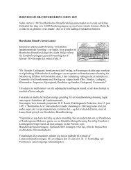 Historie om stiftelsen af Bornholms Brandforsikring